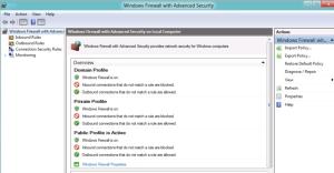 Configure El Firewall De Windows 8 Ramonmorillo 39 S Weblog